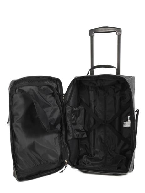 valise cabine eastpak authentic black denim en vente au meilleur prix. Black Bedroom Furniture Sets. Home Design Ideas