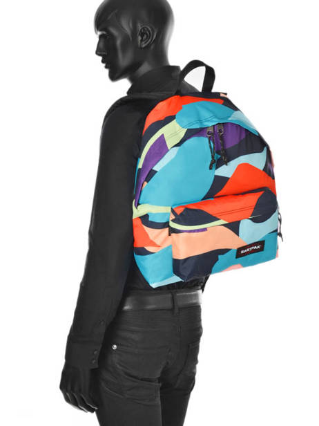 Backpack 1 Compartment A4 Eastpak Multicolor pbg PBGK620 other view 3